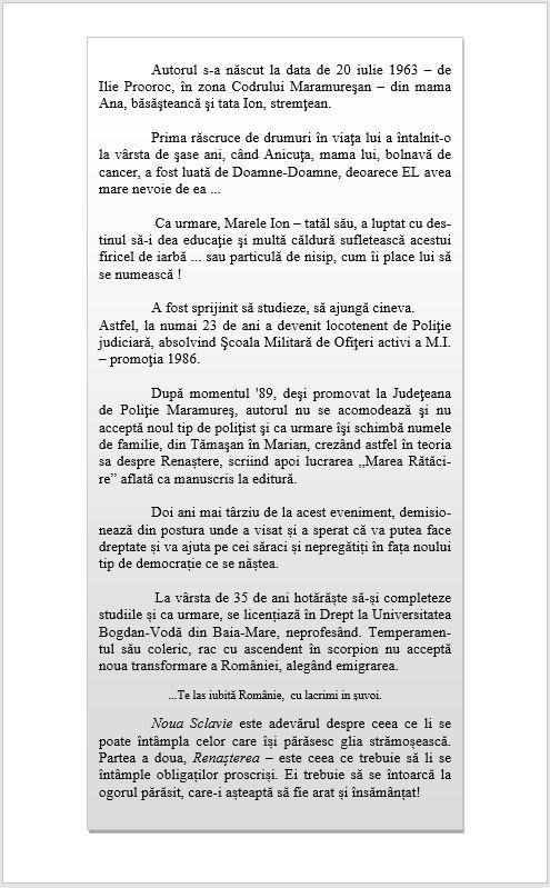 Text pagina 2 Marea Rătăcire